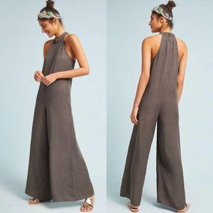 Anthro Cloth & Stone Marfa Wide Leg Jumpsuit Large